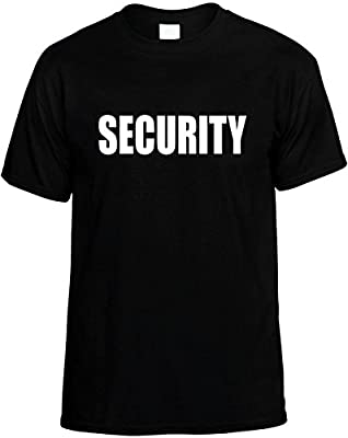 Kids Funny T-Shirt (SECURITY) Youth Tee Shirt