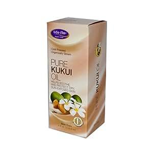 Life-Flo Oil, Pure Kukui, 4 Ounce