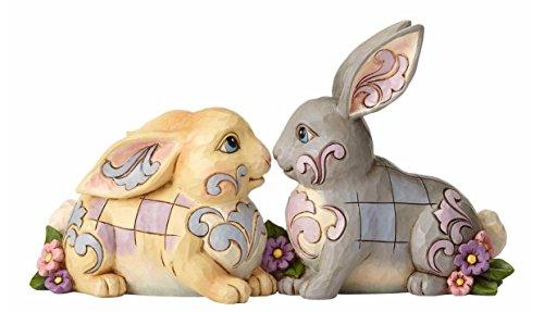 Jim Shore HWC by Enesco 2 Sitting Bunnies by - Jim Bunny Shore Easter