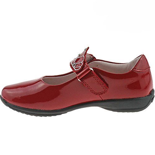 Lelli Kelly LK8100 (DD01) Red Patent Missy Dolly School Shoes F Width-31 ... 2948142df5