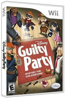 DISNEY GUILTY PARTY WII (WII)