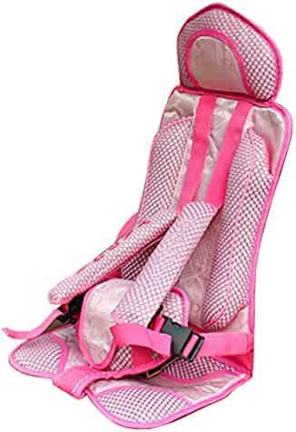 Protable Infant Child Baby Car Seat Safety Seats Secure Carrier Chair for Kids(Pink)