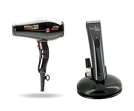 Parlux 385 secador de pelo Negro Y Bella de Wahl Recortadora: Amazon.es: Salud y cuidado personal