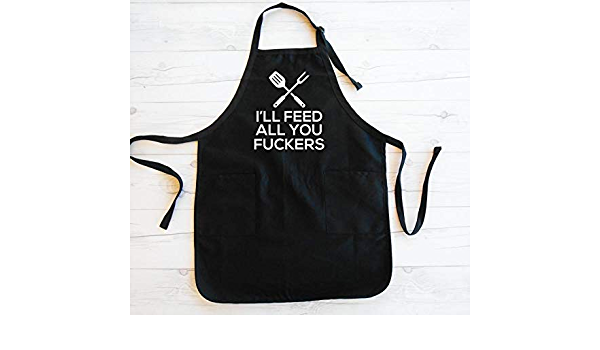 Stand Back Scott Is Cooking Adult BBQ Personalised Apron Gift Your Club Name