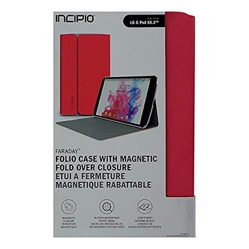 LG G Pad X8.3 Incipio Protective Hard Shell Faraday Case for LG G Pad X8.3-Pink (LGE-262-PNK) (Lg Incipio Case Tablet)