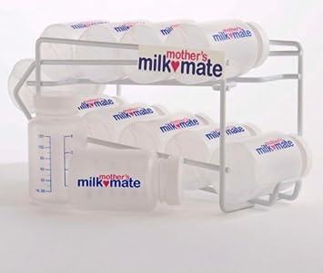 Amazoncom Mothers Milkmate Breast Milk Storage Rack 10 Bottles