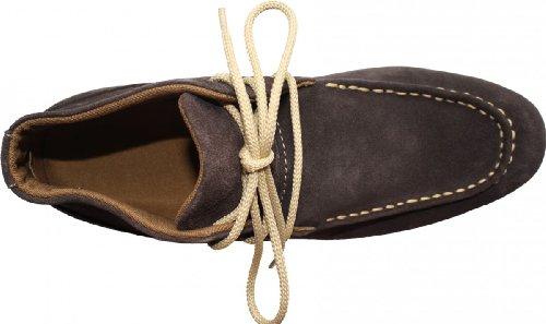 Stiefeletten Braun Leder Dunkelblau amp; Blau schuhe Boots Wildleder Schwarz Beige Desert Schnürschuhe 7qBEqCaw