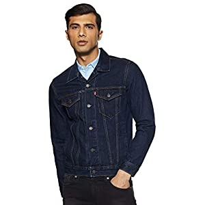 Levi's Men's Jacket (72334-0134_Blue_L)
