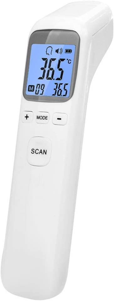 Thermom/ètre infrarouge infrarouge num/érique sans contact avec /écran LCD pour b/éb/és temp/érature de surface m/édicale adultes