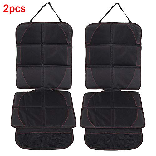vitihipsy Car Seat Protector for Child Baby Safety Seat with Organizer Pockets,Vehicle Dog Cover Pad for SUV Sedan Leather Seats: