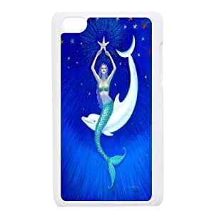 High Quality {YUXUAN-LARA CASE}Sea And Dolphins FOR IPod Touch 4th STYLE-5