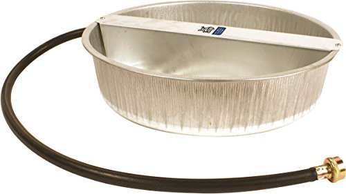 Miller PW13 Ever Full Galvanized Pet Waterer, 3.25 Gallon