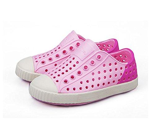 ZanYeing Unisex-Babys Lauflernschuhe Geschlossene Sandalen Badeschuhe Ultraleichte Sommer ClogsNette Sandale Für Kleinkind Junge Mädchen Rosa