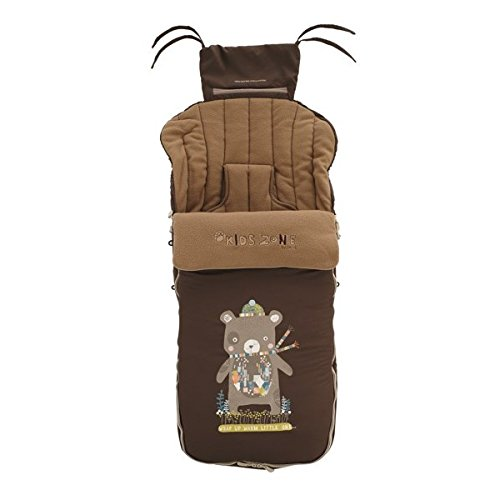 Jane 80473 - Bolsa de cochecito de paseo Jané Nest Plus Pushchair Footmuff, color marrón 080473 S10