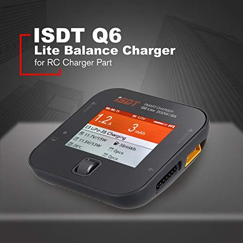 Wikiwand ISDT Q6 200W 8A Handheld Pocket Battery Balance Charger for RC Charger Part by Wikiwand (Image #5)