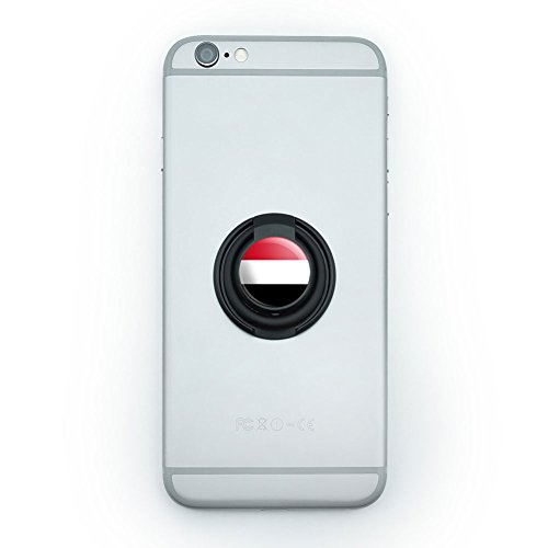 Mobile Smart Phone Finger Ring Grip Holder Stand Country National State Flag S-Z - Yemen National Country Flag