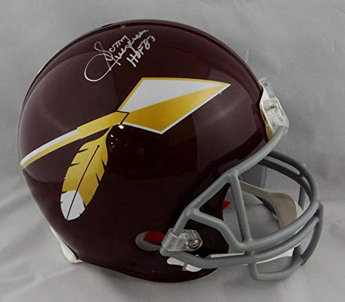 Sonny Jurgensen HOF Signed F/S Redskins 65-69 TB ProLine Helmet- JSA W Auth Silver
