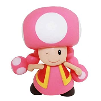 amazon com new super mario brother characters pvc 3 5 toadette