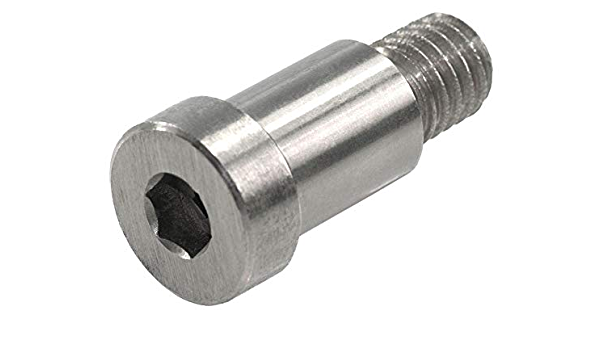 5//32 Head Ht 5//16 Head Dia 1-1//4 Shoulder Lg UNICORP SCB312-416-21 Hex Socket Shoulder Screw- 3//16 Shoulder Dia 8-32 Thread 416 Stainless QTY-50