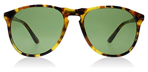 Persol PO9649S 10524E Tortoise PO9649S Oval Sunglasses Lens Category 2 Size - Persol Po9649s