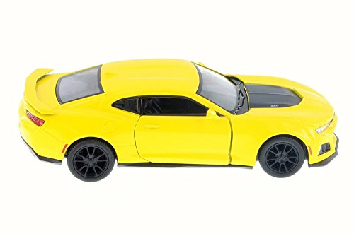 KiNSMART 2017 Chevrolet Chevy Camaro ZL 1 Yellow Color 1:38 Die-Cast,Model,Toy,Car,Collectible,Collection