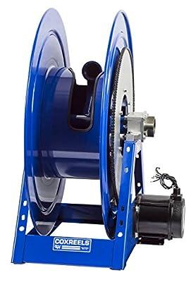 Coxreels 1185-1124-A Compressed Air #4 Gast Motor Rewind Hose Ree