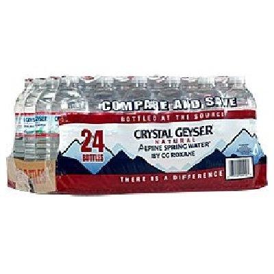 Crystal Geyser Alpine Spring Water (24x500ML)