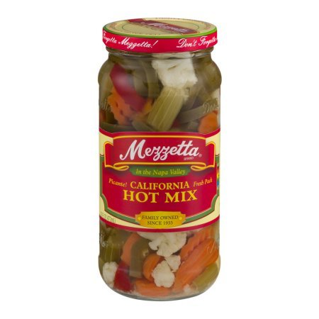PACK OF 20 - Mezzetta California Hot Mix, 16.0 FL OZ by Mezzetta (Image #6)