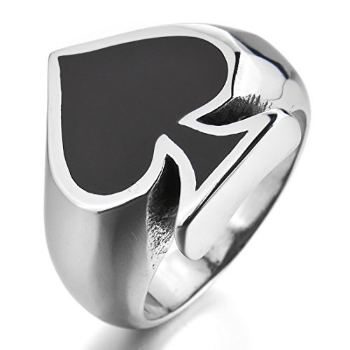 ace of spades ring - 3