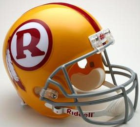 (Riddell NFL Washington Redskins 1970-1971 Throwback Replica Vsr4 Full Size Football Helmet)