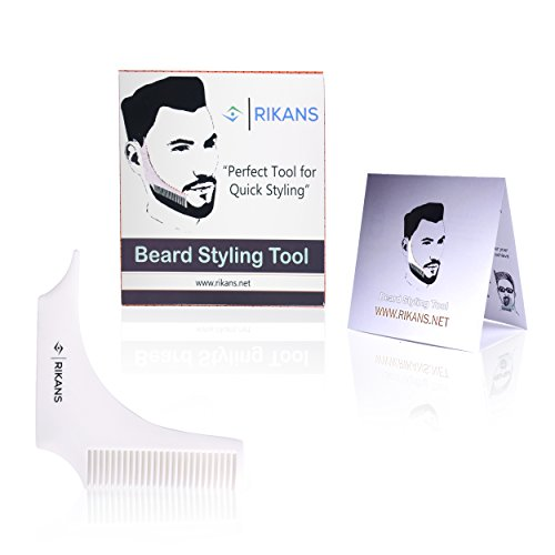 Beard-comb-styling-and-shaping-tool-template-perfect-lines-and-symmetry-for-Neckline-and-goatee-beard-Curve-Step-Straight-cut-lightweight-convenient-to-use
