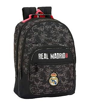Real Madrid CF- Real Madrid Mochila, Color Negro (SAFTA 611924560)