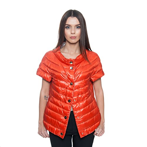 Padding Women's With Silver Orange Quilted Herno Reversible Jacket 1wdv00q