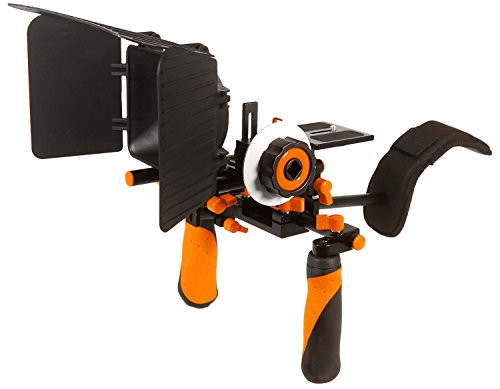 Pro Steady DSLR Complete Movie Rig with Shoulder Mount and F