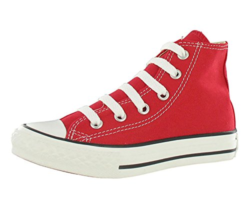 Converse Clothing & Apparel Chuck Taylor All Star High Top Kids Sneaker Red 12