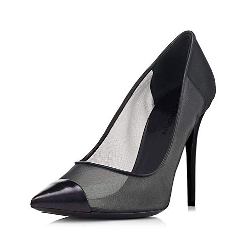 464 noir pointus mwoook professionnels aiguilles de de club Talons discothèque soirée chaussures chaussures a7RUIwTxq