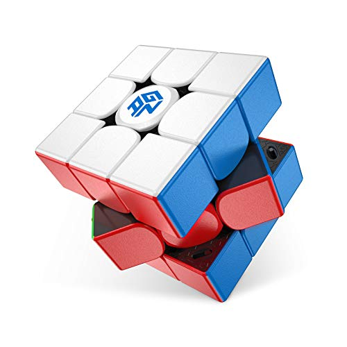 GAN 11 M Pro, 3x3 Magnetic Speed Cube, Frosted Surface (Black Internal)