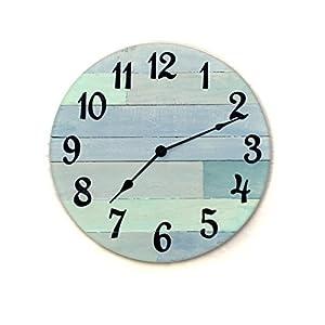41LkCguBhjL._SS300_ Coastal Wall Clocks & Beach Wall Clocks