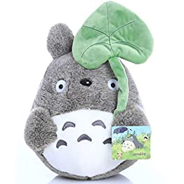 Totoro Plush - Leaf Hat - 7.8 Inches | My Neighbor Totoro | Studio Ghibli Plush 5