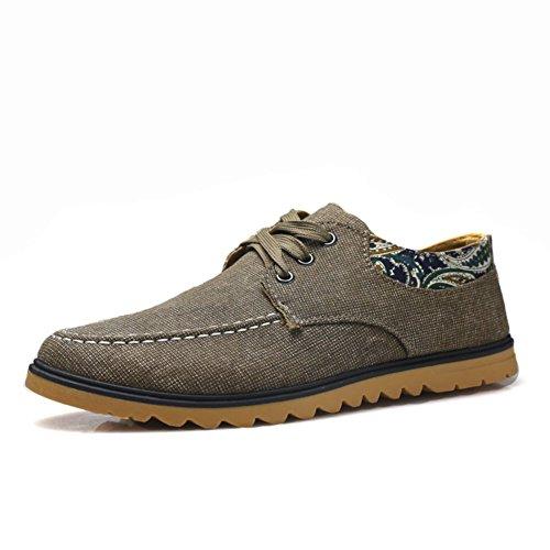 Sencillo y cómodo zapato parpadea en comienzo del verano/zapatillas de deporte casuales antideslizantes marrón