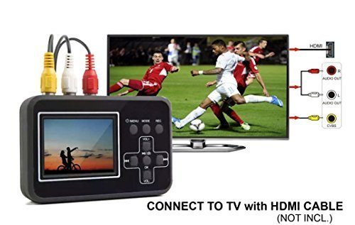 Video recorder with screen/ VHS,VCD,DVD,VCR, DV converter (Portable Vhs Player compare prices)