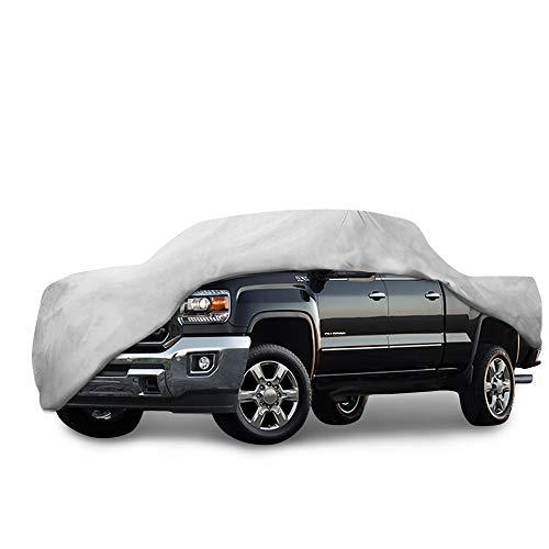 Motor Trend T-800 Weatherproof for 2013-2018 GMC Sierra Custom Fit Truck Cover (Outdoor Use UV Protection Waterproof)