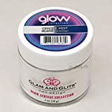Glam and Glits ACRYLIC Glow in the Dark Nail Powder - Opaque Mist 2029
