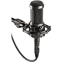 Audio-Technica AT2035 Large Diaphragm Cardioid Condenser Studio Microphone
