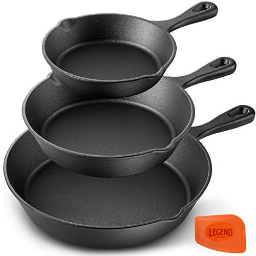 Legend Cast Iron Skillet Set