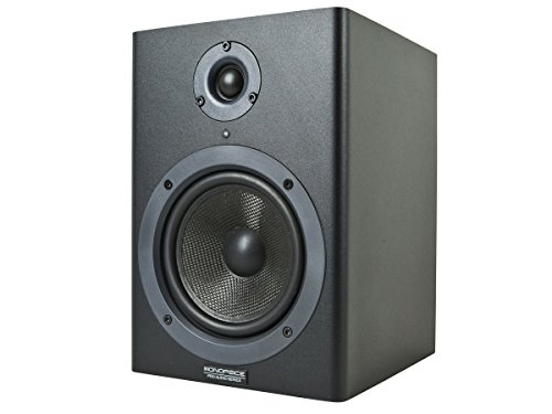 Monoprice Stage Right 5-inch Powered Studio Multimedia Monitor Speakers (pair) - (605500) by Monoprice (Image #1)'
