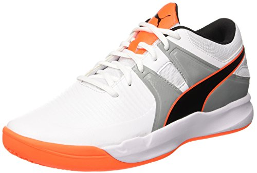 Explode White 2 shocking Orange puma 02 Blanc Homme Chaussures quarry Puma THwgYqq