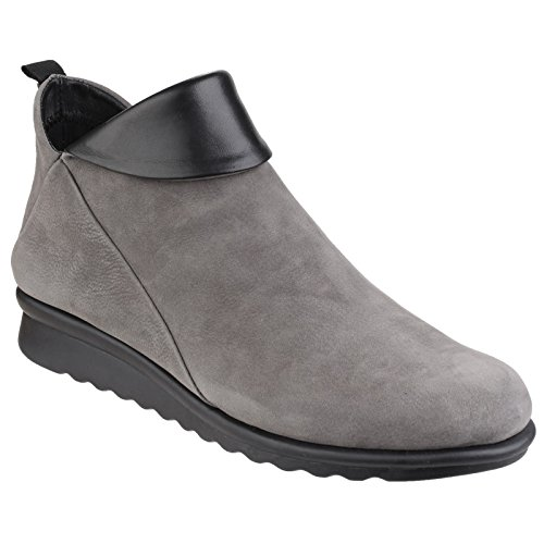 Boots Flexx cashmere ladies Black On Pam The Dakar Womens Damme Ankle Slip 46nfvA
