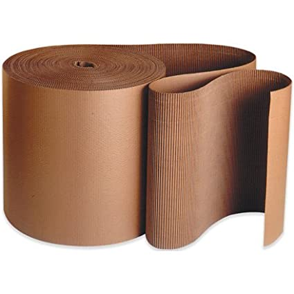 Aviditi SF15 A Flute Single Face Corrugated Roll, 250-Feet Length X 15-Inch Width, Kraft