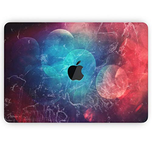Abstract Fire & Ice V7 - Design Skinz Premium Full-Body Cover Wrap Matte Finished Decal Skin-Kit for The MacBook Air 11
